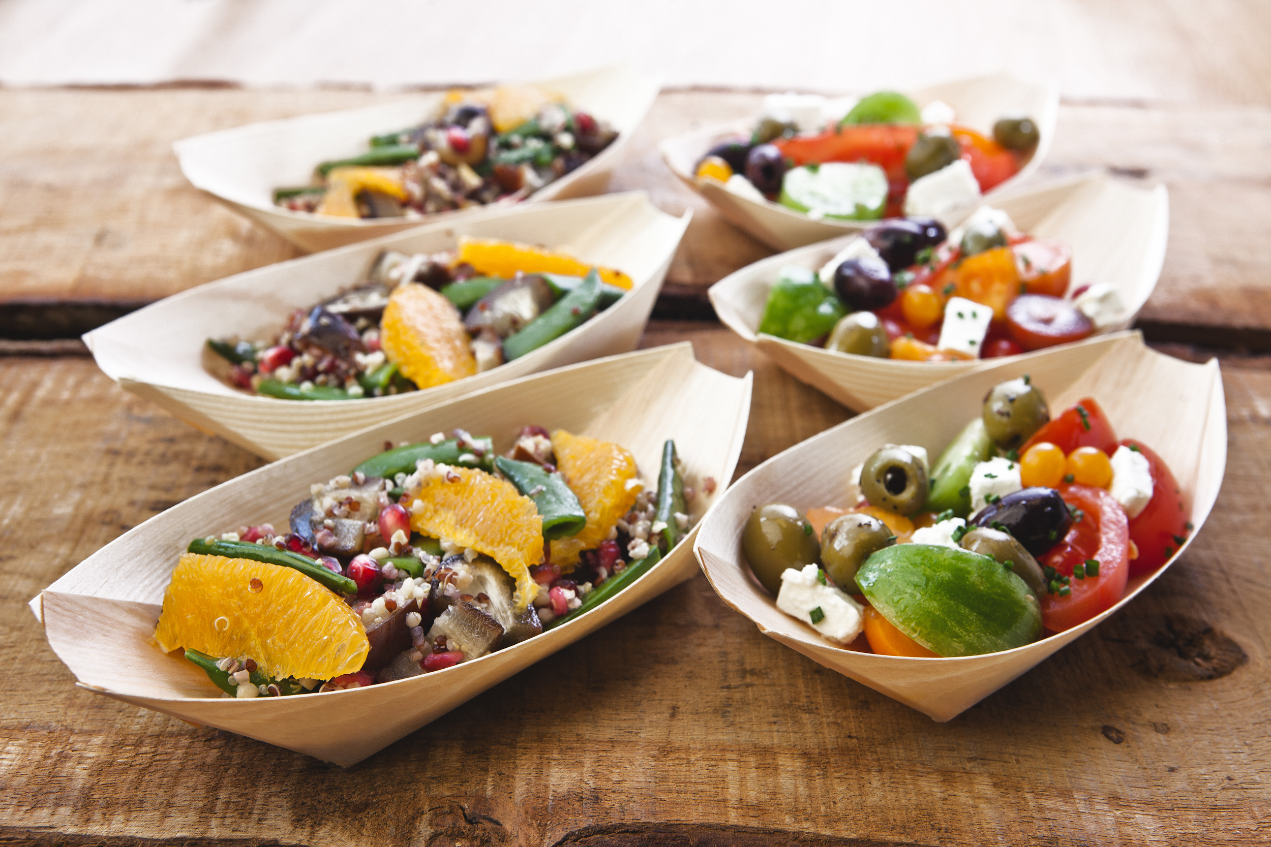 Healthy eating for delegates that packed with flavour